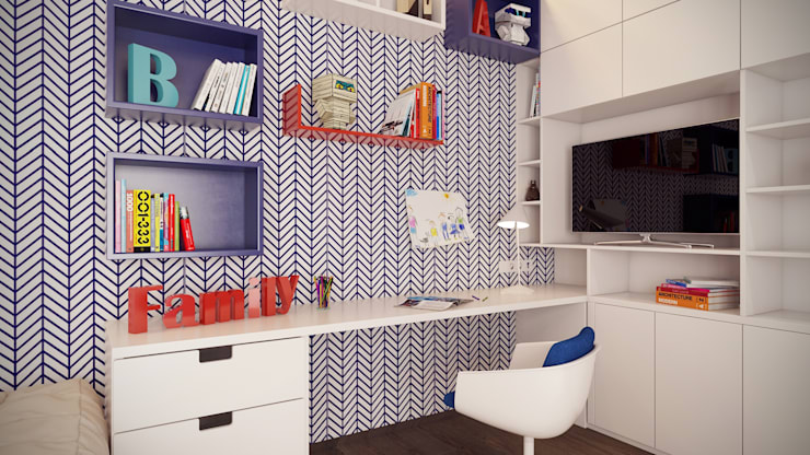 Nursery/kid's room by Art-i-Chok