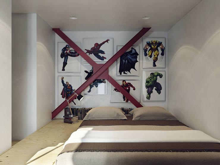 Скандинавский стиль: Спальни в . Автор – Хороший план
