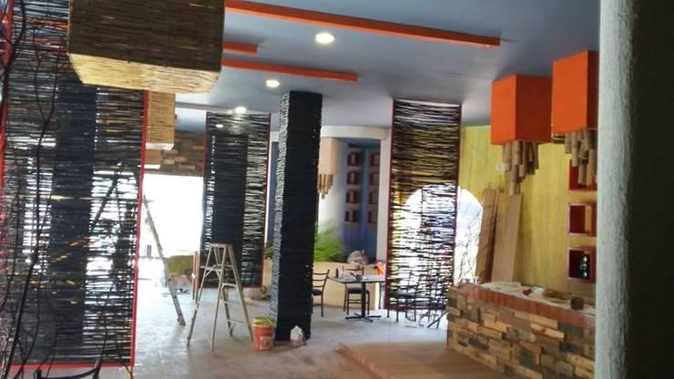 restaurant-bar en Acapulco: Bares y discotecas de estilo  por bello diseño!