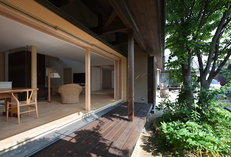 広縁: ろく設計室が手掛けた窓です。