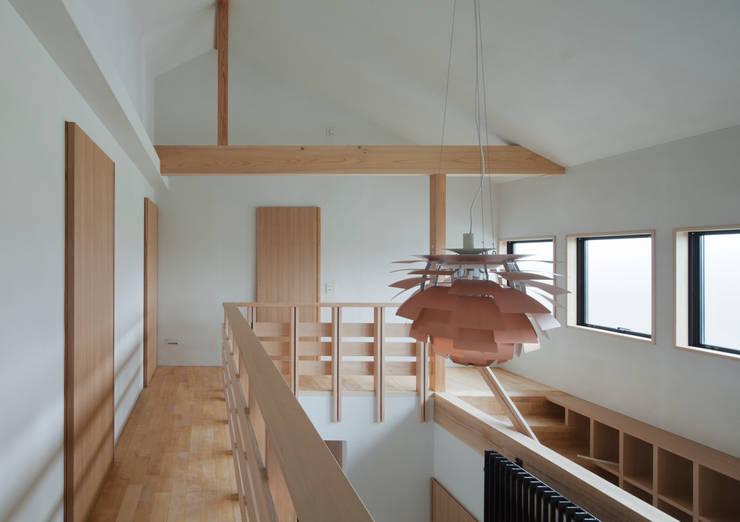 吹抜: ろく設計室が手掛けた廊下 & 玄関です。