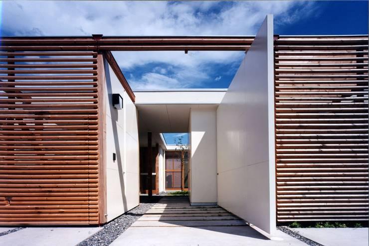 時間と共に形を変えていく: スタジオ・ベルナが手掛けた廊下 & 玄関です。