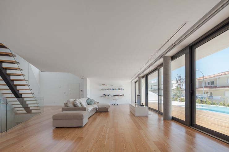 modern Living room by JPS Atelier - Arquitectura, Design e Engenharia