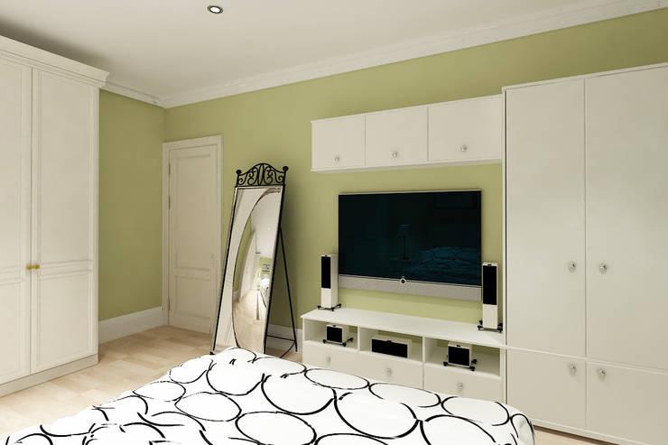 Bedroom by Алёна Демшинова