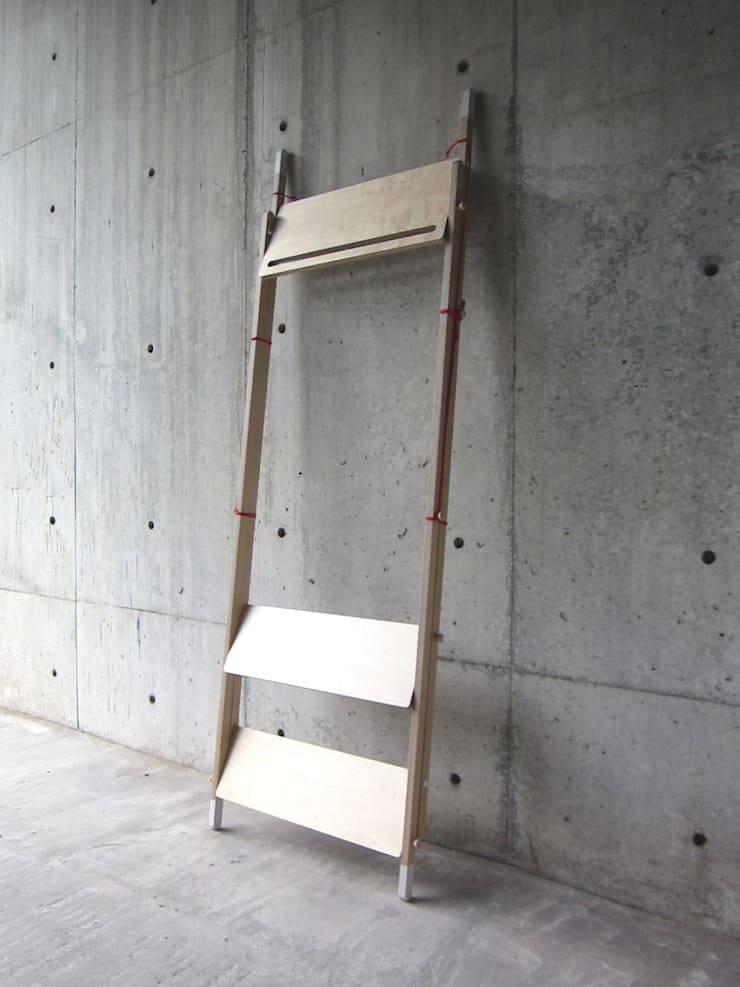 LADDER RACK – Tall: abode Co., Ltd.が手掛けたリビングルームです。