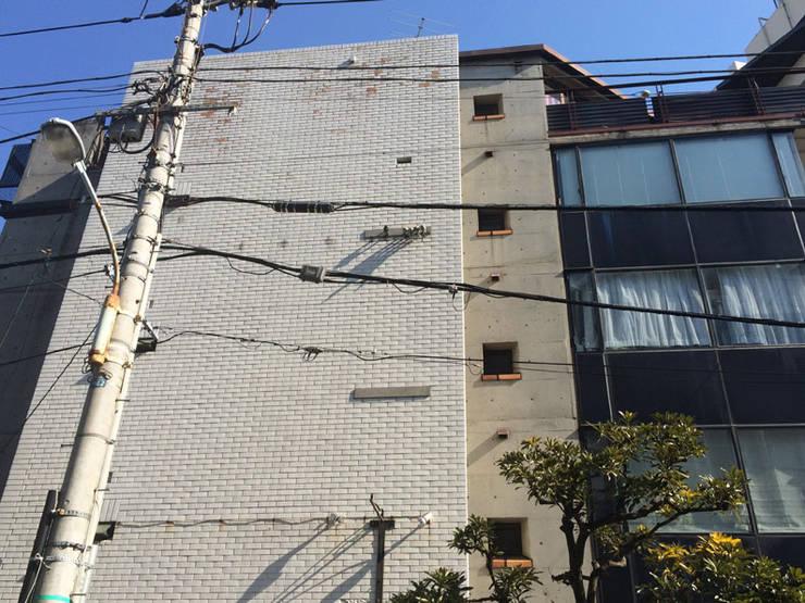 west elevation: 伊藤邦明都市建築研究所が手掛けた家です。