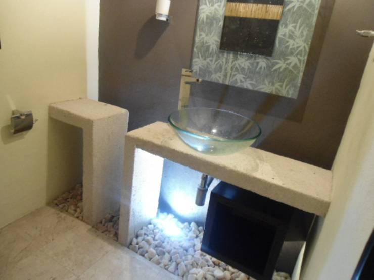 Ванная комната в эклектичном стиле от bello diseño! Эклектичный