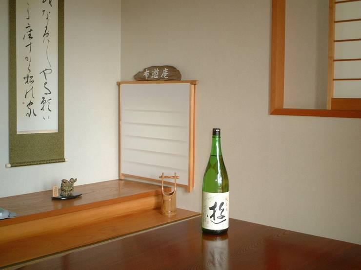 Стены в . Автор – (有)岳建築設計, Азиатский