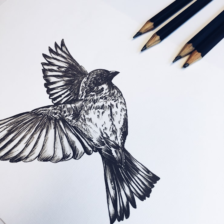 BIRD: Arte de estilo  por PEN STUDIO