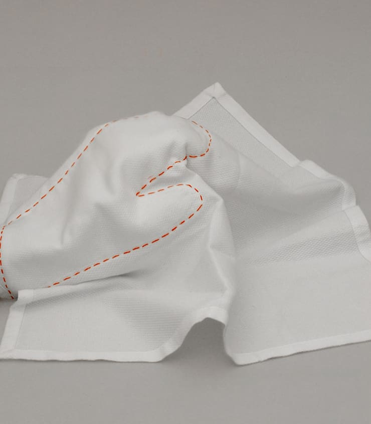 Cloth Glove: Cozinha  por Studio Verissimo