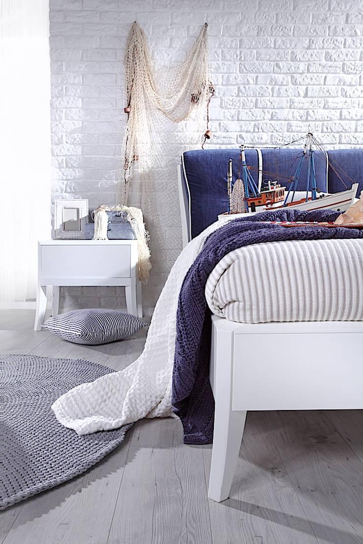 Łóżko Dream Luxury: styl , w kategorii  zaprojektowany przez Swarzędz Home ,Śródziemnomorski