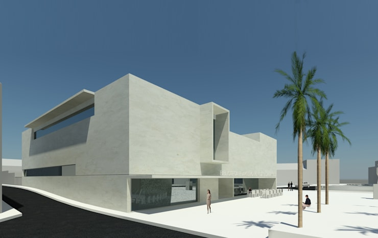 Pusat Eksibisi oleh ATELIER DA CIDADE, Modern
