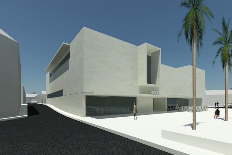 Restoran oleh ATELIER DA CIDADE, Modern
