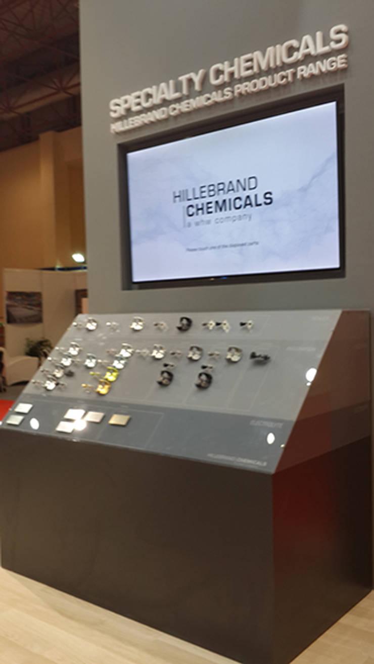 Derin İnşaat ve Mimarlık – Hillebrand Chemicals | a whw company:  tarz Sergi Alanları