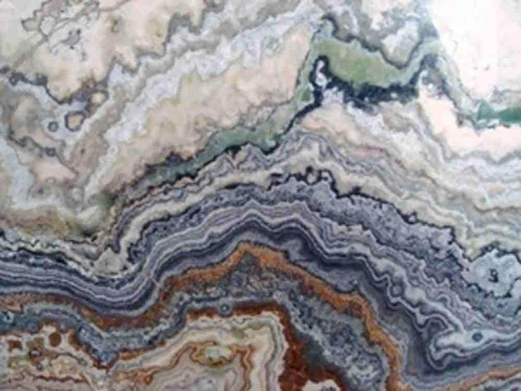 Kamień naturalny - Onyks - marmur: styl , w kategorii Biurowce zaprojektowany przez Merkam  - Łódź ul. Św. Jerzego 9 ,Nowoczesny Kamień
