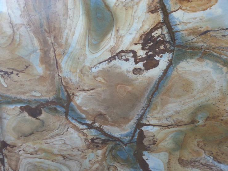 Kamień naturalny - Onyks - marmur: styl , w kategorii  zaprojektowany przez Merkam  - Łódź ul. Św. Jerzego 9 ,Nowoczesny Kamień