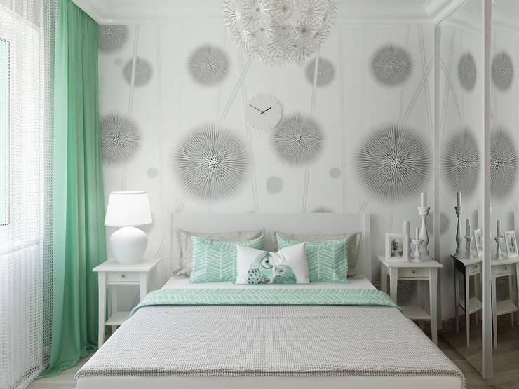 Спальня: Спальни в . Автор – Olesya Parkhomenko, Скандинавский