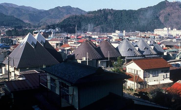 As the landmark of HANAWA Town: 伊藤邦明都市建築研究所が手掛けた和室です。