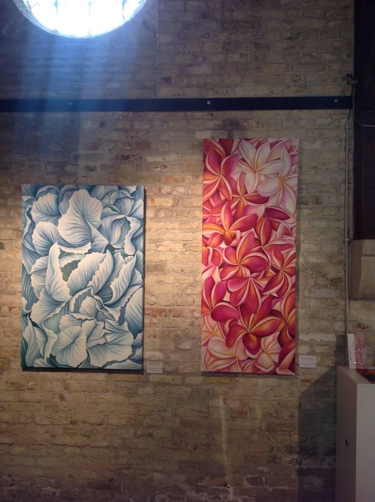 "Exposición ""GLOBAL ART"" en Nieuwpoort, Bélgica.: Arte de estilo  por Filiberto Montesinos"