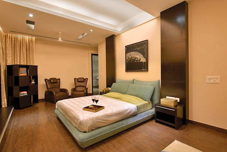 Residence Design, Rosewood City:  Bedroom by H5 Interior Design