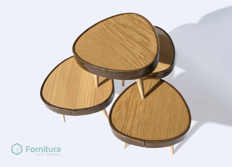 Stoliczek miniaturka z lat 60-tych.: styl , w kategorii Salon zaprojektowany przez Fornitura,