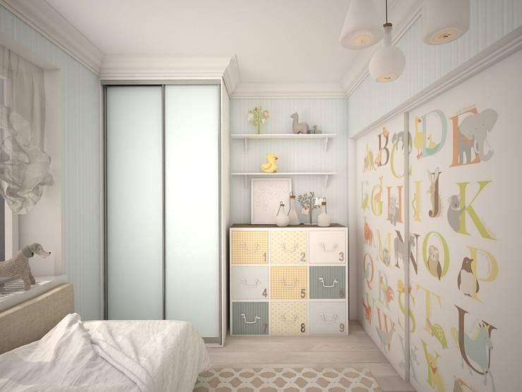 квартира в ЖК Garden Park Эдальго: Детские комнаты в . Автор – AG design