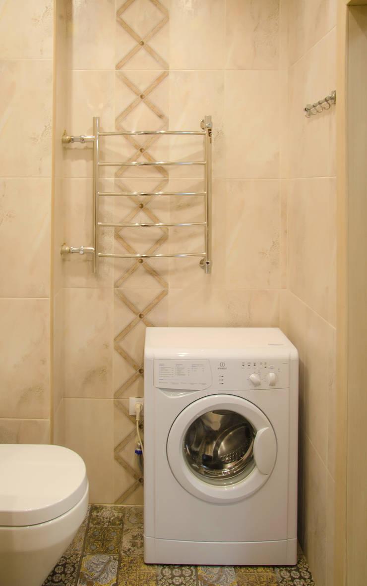 Реализация. Квартира 45 кв.м. на Романова: Ванные комнаты в . Автор – Студия дизайна Виктории Силаевой