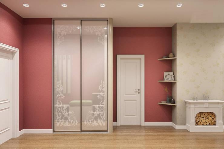 Квартира 55 кв.м. на Дзержинского : Коридор и прихожая в . Автор – Студия дизайна Виктории Силаевой