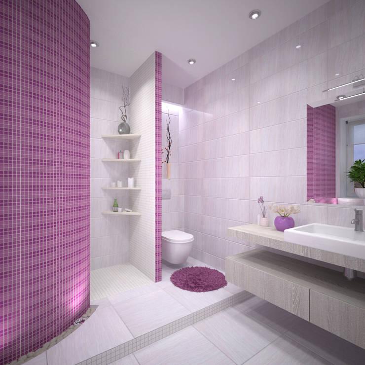 Bathroom by Студия дизайна Виктории Силаевой