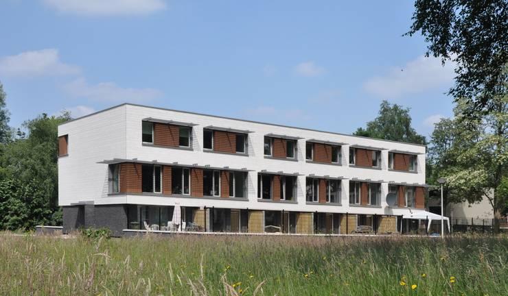 renovatie enschede:  Huizen door Wismans & De Jong Architecten BNA