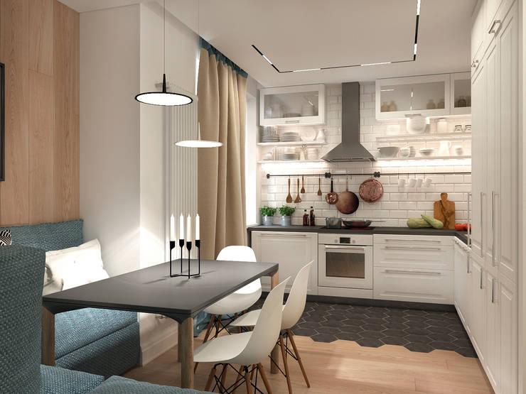 Кухня: Кухни в . Автор – ECOForma,