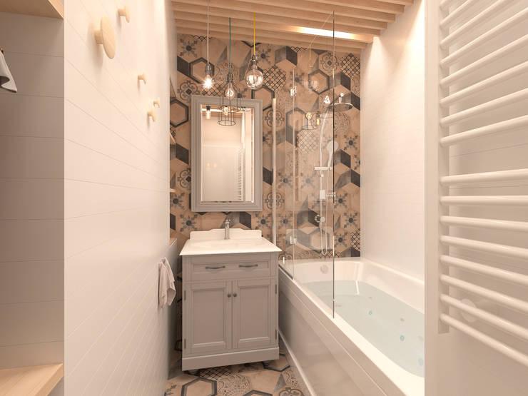 Ванная комната: Ванные комнаты в . Автор – ECOForma,