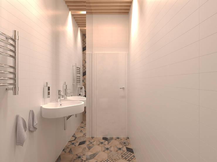 с/у: Ванные комнаты в . Автор – ECOForma,