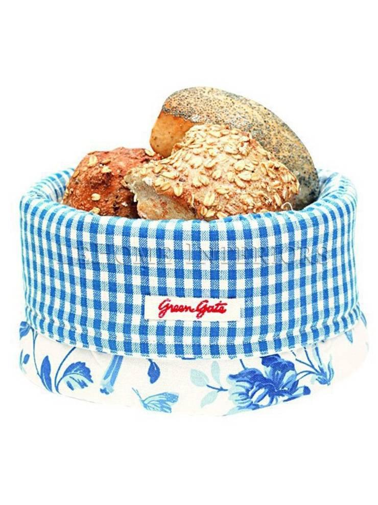Корзина для хлеба GreenGate Penelope Blue G012: Кухня в . Автор – LeHome Interiors