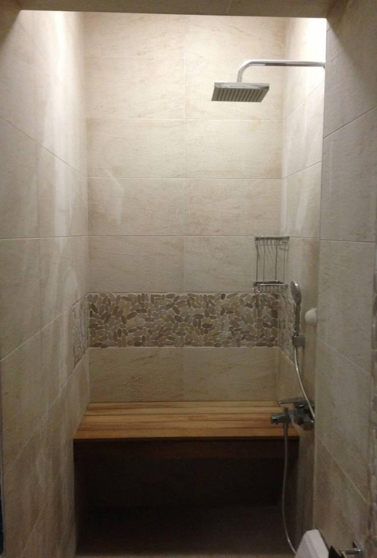 GENT İÇ MİMARLIK – SARIYER KONUT PROJESİ:  tarz Banyo,