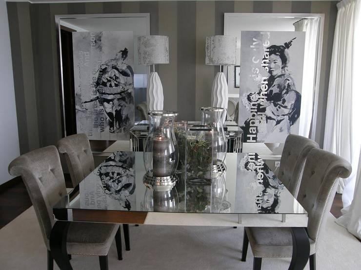 Sala de jantar: Salas de jantar  por 3L, Arquitectura e Remodelação de Interiores, Lda