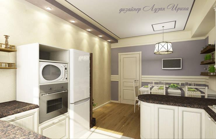 Кухня в стиле кантри: Кухни в . Автор – Творческая мастерская Лузан Ирины,