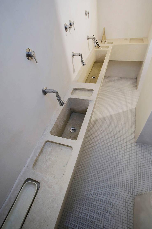 Modern bathroom by LOLA Modern Stone