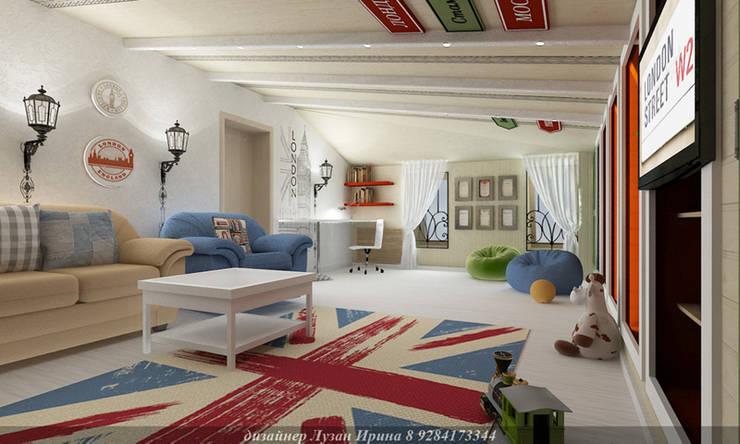 Детская игровая комната: Детские комнаты в . Автор – Творческая мастерская Лузан Ирины