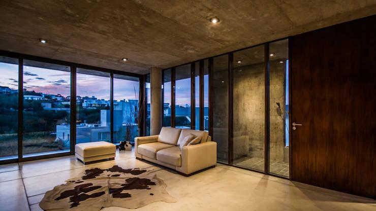 Casa La Rufina: Livings de estilo moderno por Arq. Santiago Viale Lescano