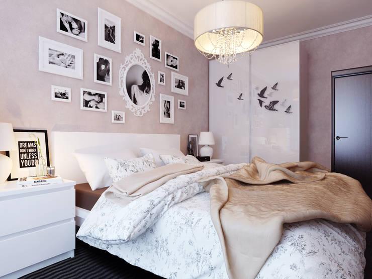 Спальня: Спальни в . Автор – Коваль Татьяна