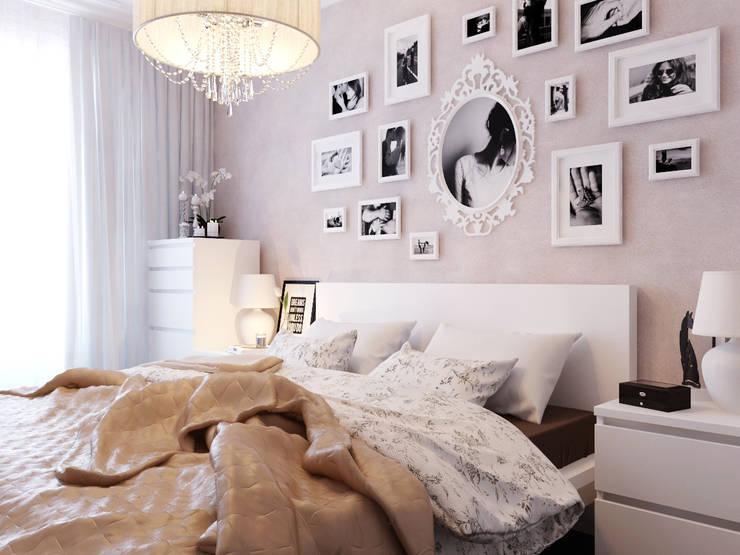 modern Bedroom by Коваль Татьяна