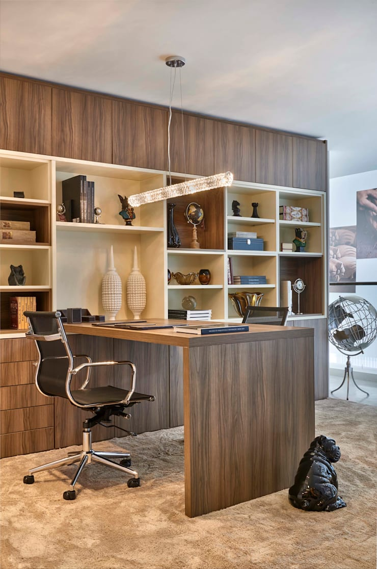 Decora Lider Salvador – Home Office: Escritórios  por Lider Interiores