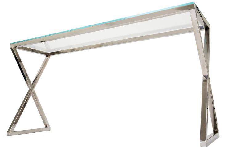 Konsola Plaza: styl , w kategorii Salon zaprojektowany przez FABHOME