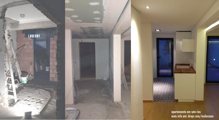 Flat before and after:   por Roberto Mulassano