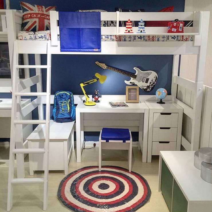Habitaciones infantiles de estilo  por INTERCASA MÓVEIS INFANTIS E JUVENIS