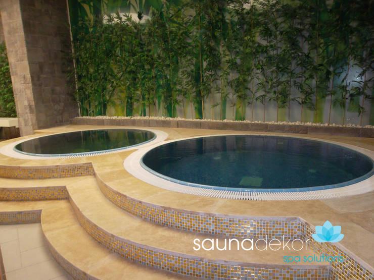 SAUNA DEKOR – Jakuziler:  tarz Oteller, Klasik Cam