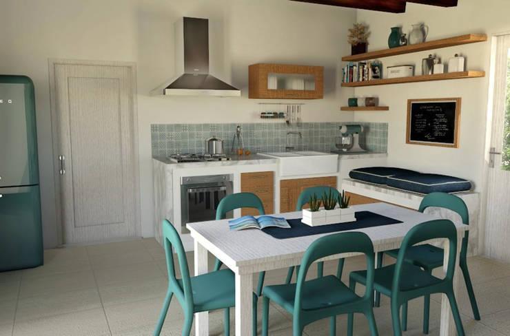 Case Di Campagna Interni : Interior design project: renovation of a country house progetto di