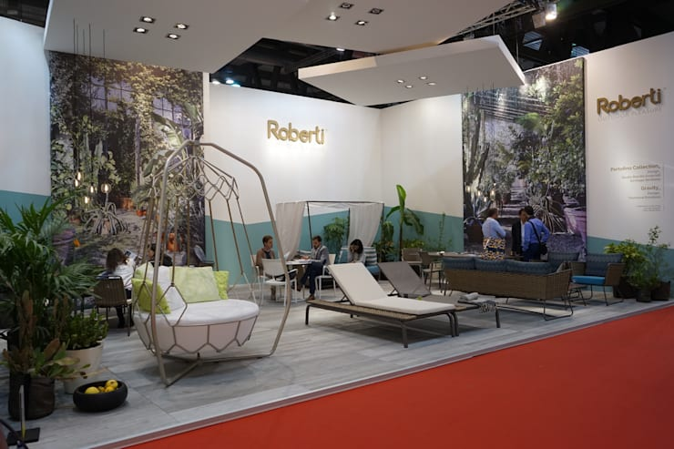 Exhibition centres by Andrea Gaio Design