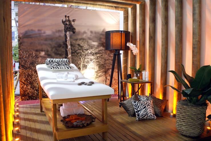 Sala de Massagem: Spas  por Daniela Zuffo Arquitetura e Interiores